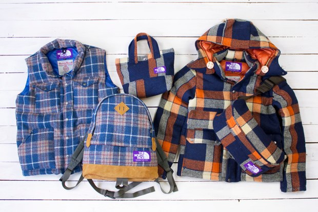 harris tweed x the north face purple label 2010 fallwinter collection