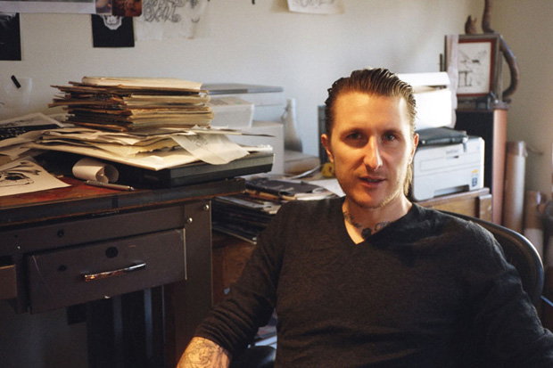 interview magazine why scott campbell lit his art on fire