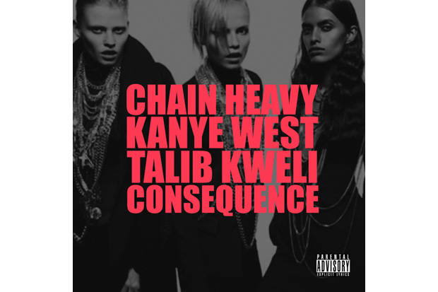 kanye west featuring consequence talib kweli chain heavy produced by q tip