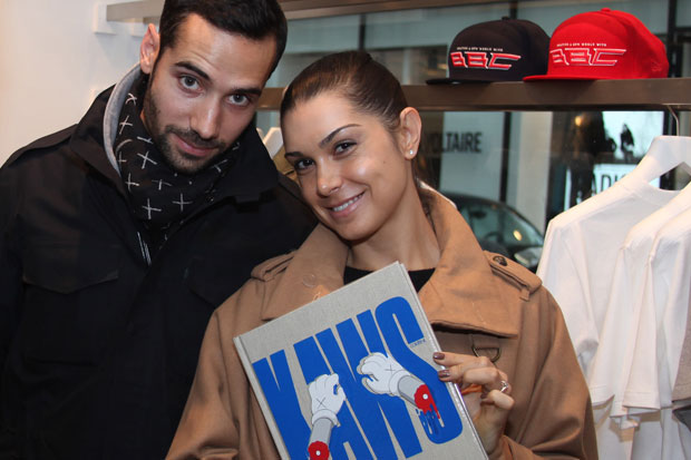 kaws book signing colette