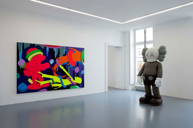 kaws emmanuel perrotin paris preview