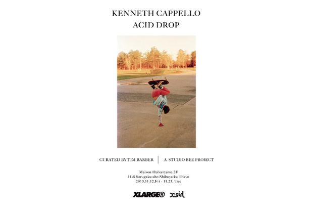 kenneth cappello acid drop exhibition curated by tim barber