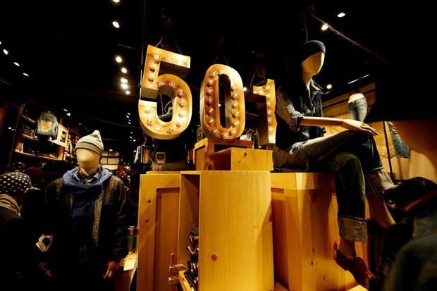 levis meatpacking concept store opening