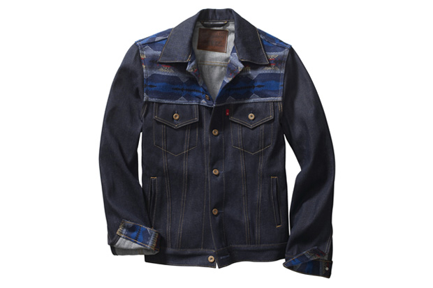 levis workwear by pendleton western trucker