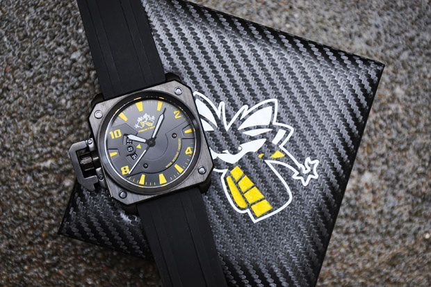 meister x anderson silva chief watch