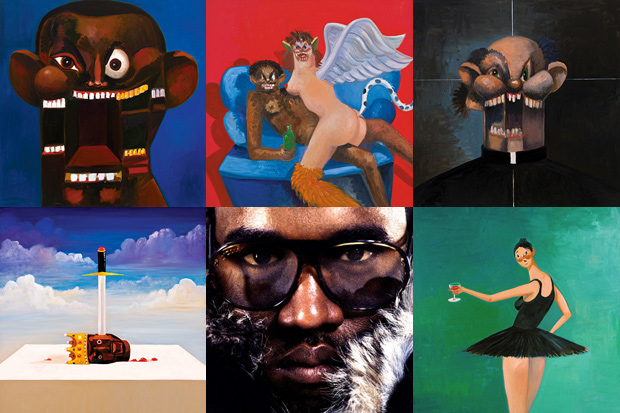 new york magazine george condo explains his five covers for kanye wests twisted fantasy