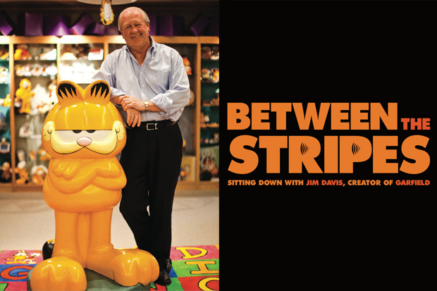 http://hypebeast.com/2010/11/the-hundreds-x-garfield-collection-between-the-stripes-interview-with-jim-davis