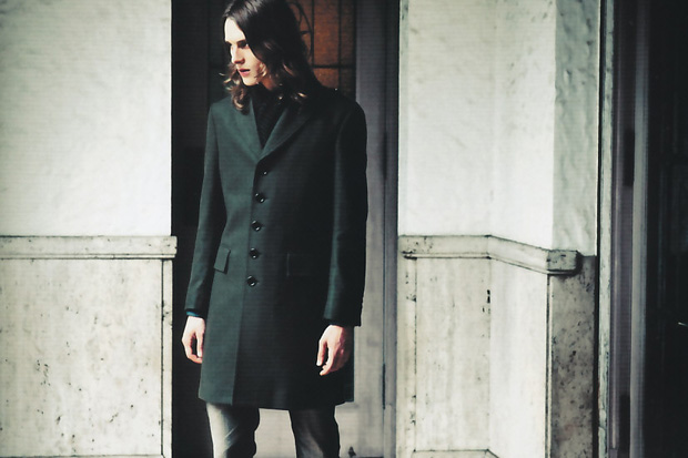 burberry black label the simple military editorial