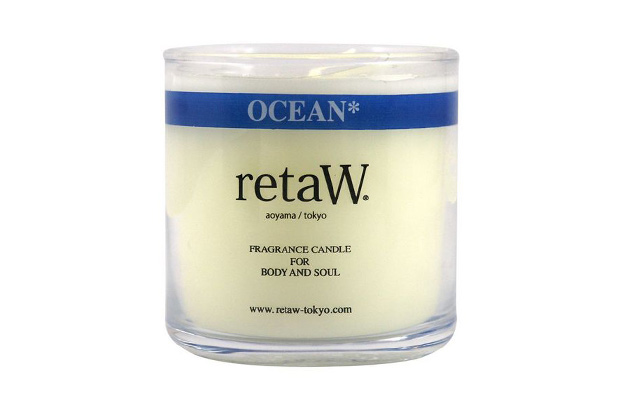 challenger x retaw fragrance candle ocean