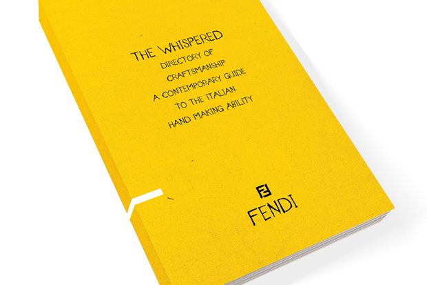 fendi for the whispered directory of craftsmanship a contemporary guide to the italian hand making ability