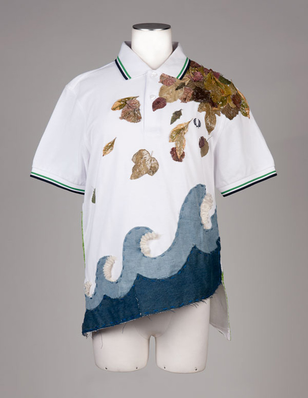 fred perry mod meets bold artist series