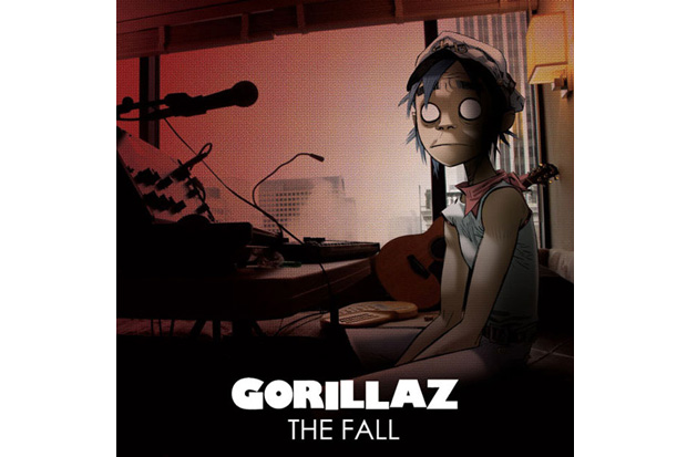 gorillaz the fall album