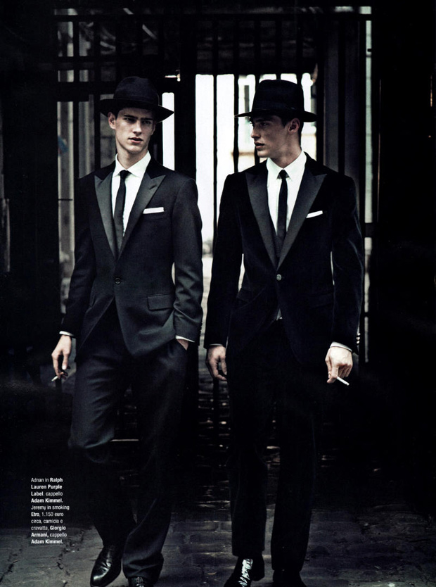 gq italia garcons terrible editorial