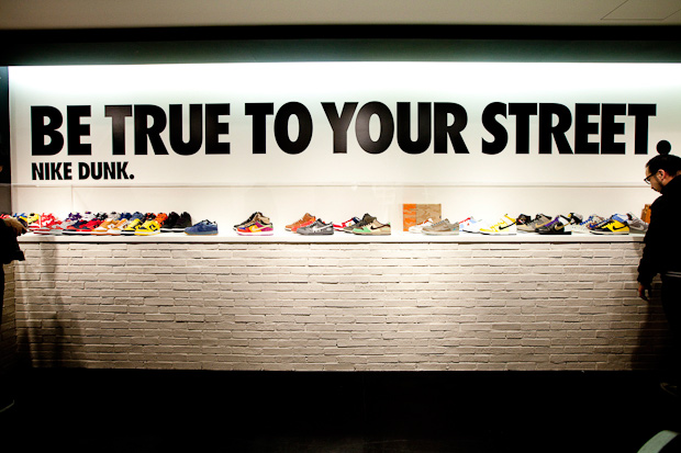 nike stadium be true to your street event