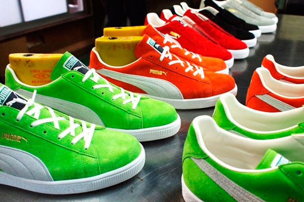 puma suede made in japan