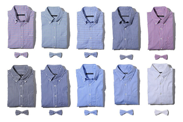 sophnet 2011 springsummer shirt bow tie collection