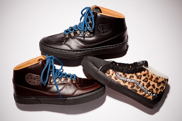 wtaps x vans syndicate blackflag supreme exclusive mountain boots sk8 mid