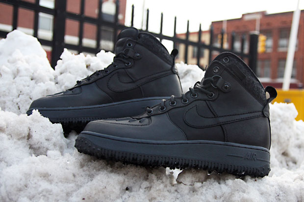 Nike Air Force  1 Duck Boot Negro  Force Negro Hypebeast dd4478