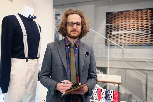 alexandre olch at colette launch
