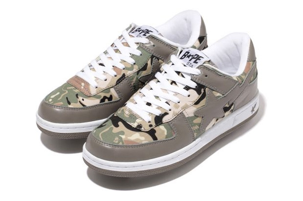 A Bathing Ape presents a new colorway in the brand s Octopus Tailor Camo  Sk8 Sta ... c644d0a32
