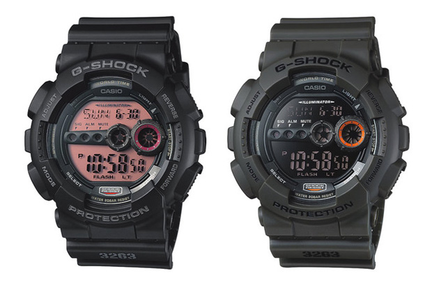 casio g shock 2011 gd 100 collection