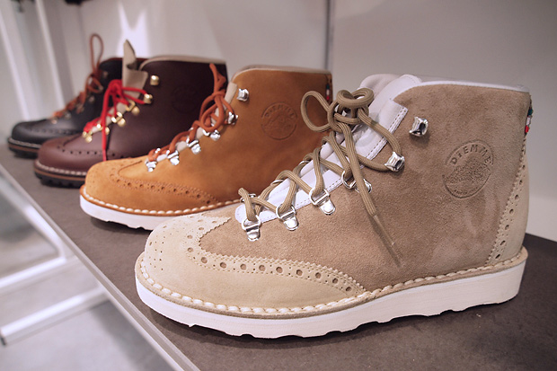diemme 2011 fallwinter brogue hiking boot