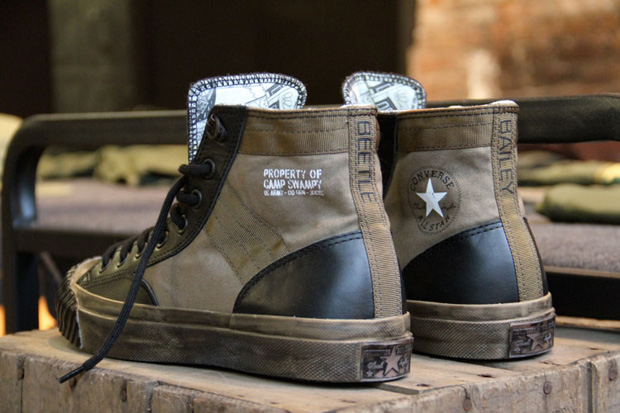 dr romanelli x beetle bailey project x converse all star bosey