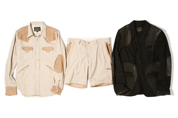 golden bear x engineered garments capsule collection