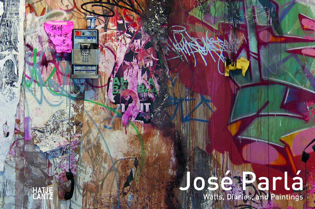 jose parla walls diaries and paintings book