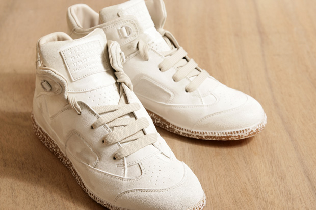 maison martin margiela painted sneakers