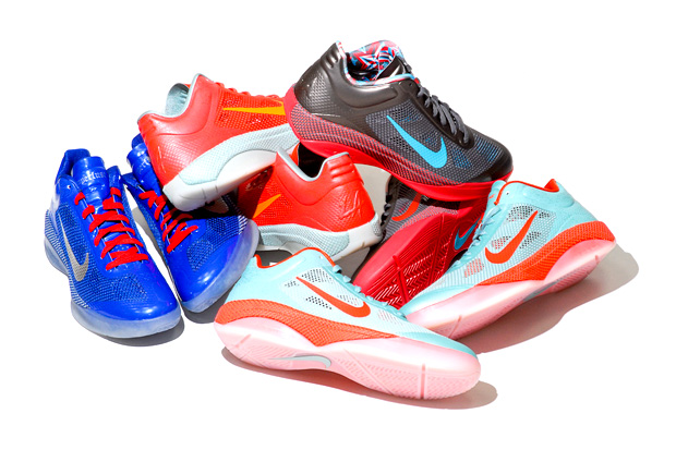 nike hyperfuse low 2011 nba all star game collection