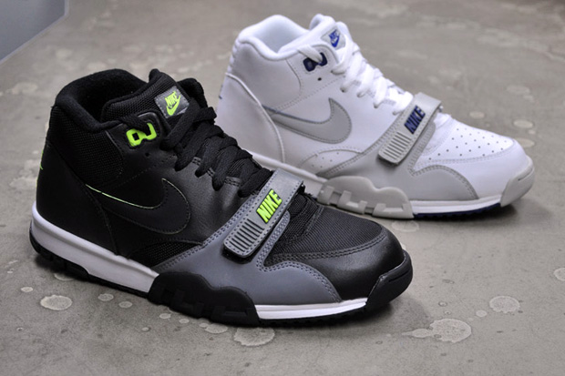 the best attitude 76ea1 96ccc Having been given a back seat to a wave of technical trainers, the Nike Air  Trainer 1 ...