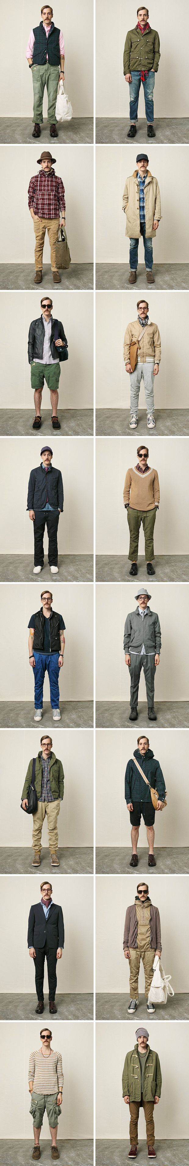 nonnative 2011 springsummer the bluffers code collection lookbook