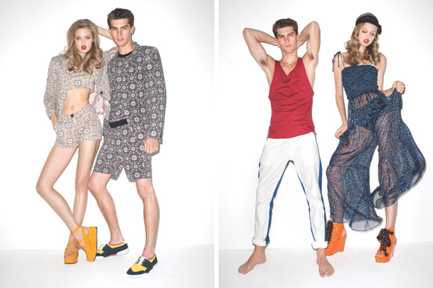 Opening Ceremony 2011 Spring Collection Lookbook by Terry ...