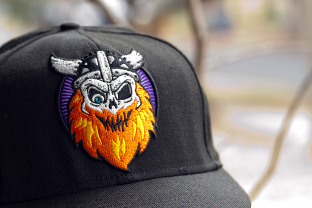 prolly is not probably x mishka x new era 59fifty viking fitted cap