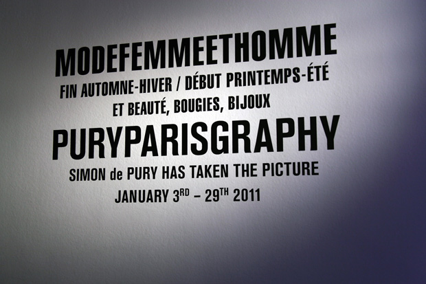 simon de pury puryparisgraphy exhibition recap