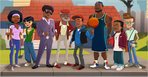 http://hypebeast.com/2011/1/the-lebrons-animated-series