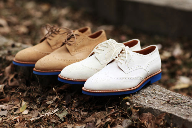 tss suede brogues