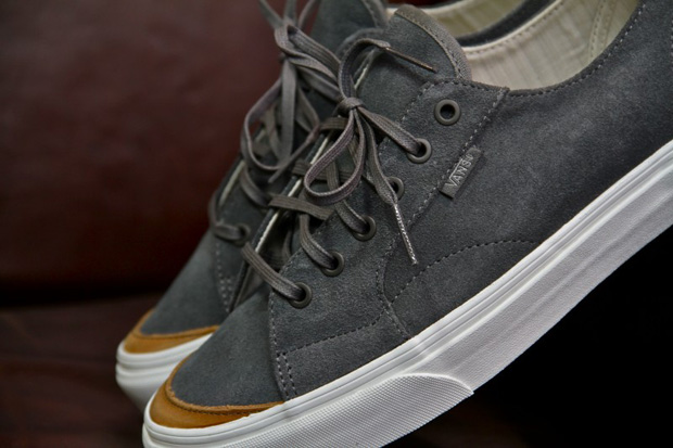 black and grey vans. The Vans California family