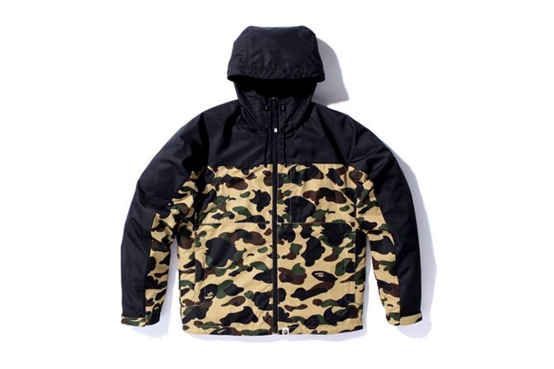 9b1df28e504b0 A Bathing Ape has just released a new lightweight jacket ...