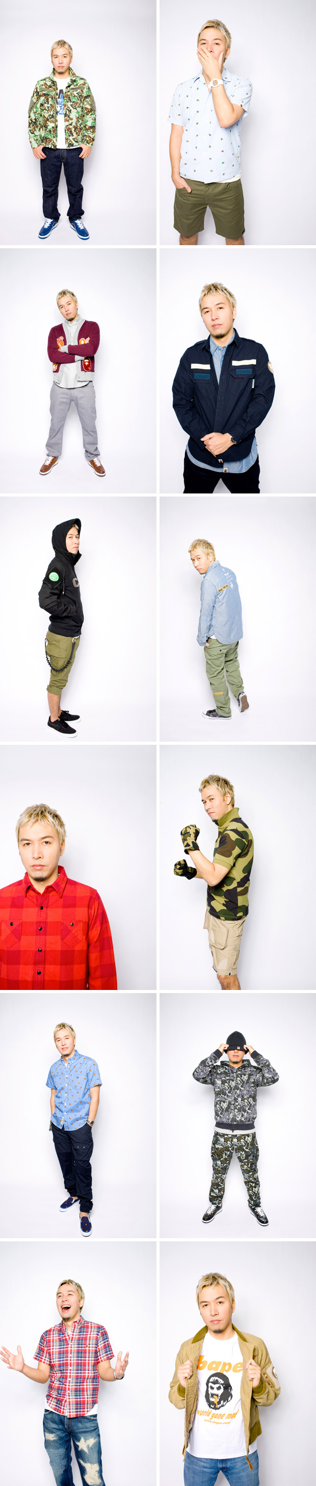 bape 2011 springsummer lookbook