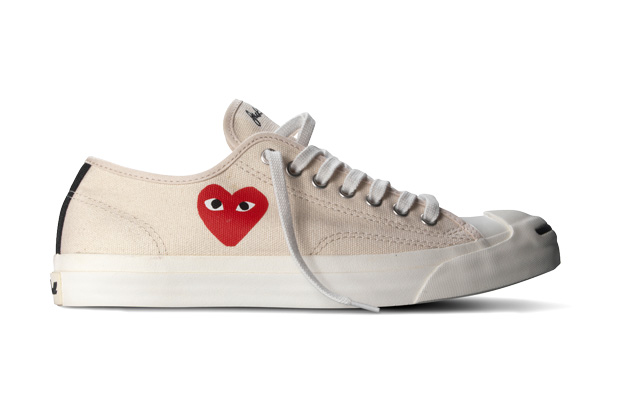 cdg converse full heart