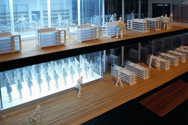 exhibition of wonderwall archives 01 10 project models further look