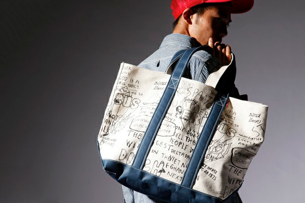 fuct dusted dave totebag