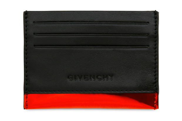 givenchy metallic leather accessories