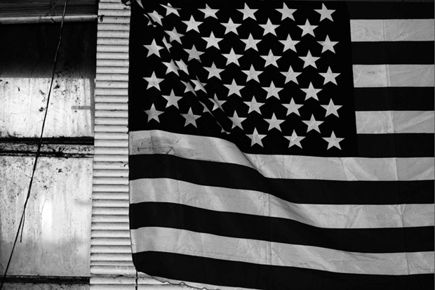 hedi slimane fragments americana exhibition at the almine rech gallery