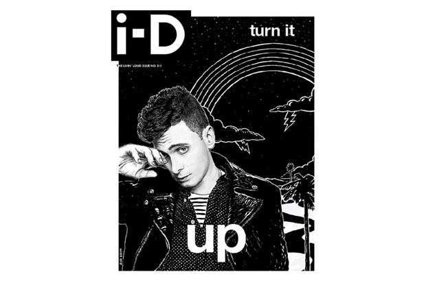 i d magazine issue 311 featuring hedi slimane