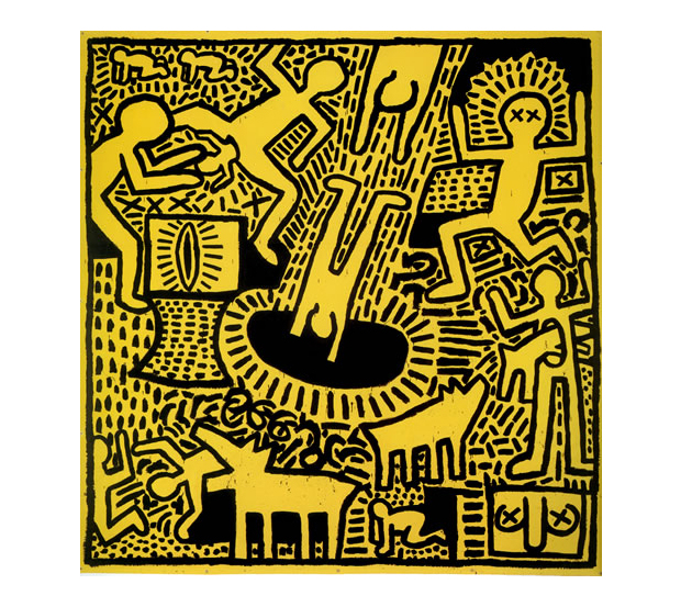 keith haring 1978 1982 exhibition at the contemporary arts center cincinnati