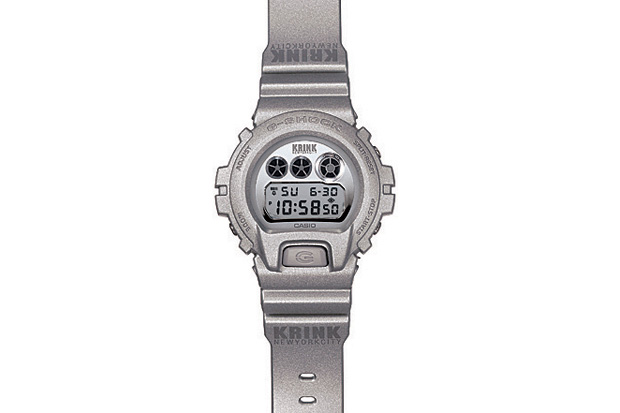krink x casio g shock dw 6900 watch