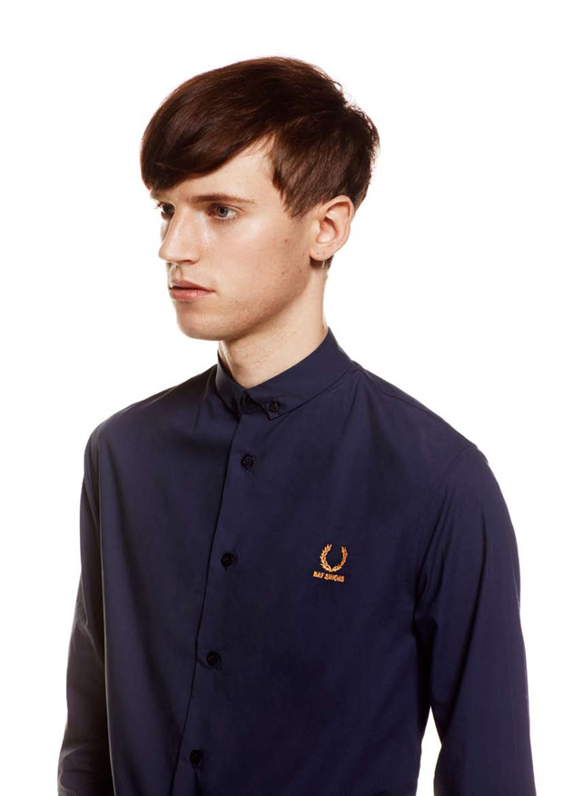 raf simons x fred perry 2011 springsummer collection
